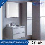 Module de salle de bains blanc imperméable à l'eau de PVC moderne