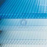 Multi-Wand Polycarbonat-Höhlung-Blatt-Bienenwabe PC Blatt