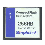 Stockage Flash Compactflash CF de 256 Mo Slcf256h Carte simple carte mémoire