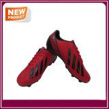 Pattini rossi delle donne degli uomini di gioco del calcio di calcio da vendere (YHF019)