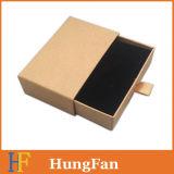 Vollständiges Verkaufspreis-Braunes Packpapier, das Fach-Kasten schiebend verpackt