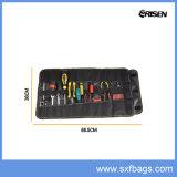 Plegable Portátil duradero Tote Roll up Tool Kit bolsa de herramientas de electricista
