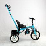 Стальная рама материалы и пластмассовые сиденья детей в инвалидных колясках с нажмите на рукоятку