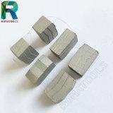 segmentos del diamante de 40X3.0X12m m para el corte de la piedra del bloque del granito