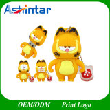 Cartoon pendrive USB Cartoon Garfield Gato Unidade Flash USB