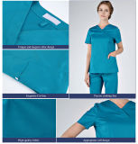 중국 Wholesale Printed Scrubs Hospital 또는 Medical Supply를 위한 Fashion Print Scrubs