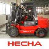 Hecha Gabelstapler der 3.5 Tonnen-Dieselgabelstapler auf Verkaufs-Cer genehmigte