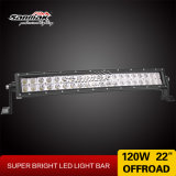 22inch 120W Curved CREE LED Working Light Bar voor Trucks