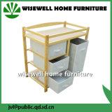 Armário de mesa de madeira 3 caixas Chaning