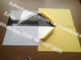 бумага 0.5mm желтая лист PVC обеих сторон слипчивый