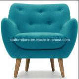 현대 거실 가구 직물 Retro 의자