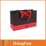 Qualitäts-PapierEinkaufstasche mit Silkscreen gedrucktem Firmenzeichen