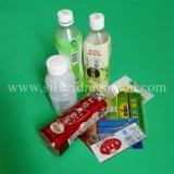 Manteau rétractable en PVC pour étiquette de bouteille, étiquette rétractable en PVC, personnalisé