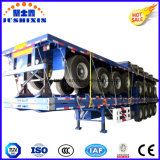 Semi remolque de plataforma 100 toneladas Transporte de Carga Semirremolque