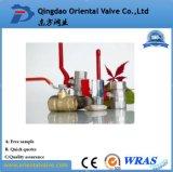 Freie Probe, Zoll des Quergriff-Messingkugelventil-1/2 mit in auf lagerfabrik in der China-Qualität