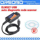 Elm327 пластиковый USB с программным обеспечением сканера