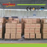 Bordure foncée de PVC de bonne qualité pour le marché de la Russie