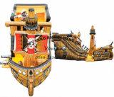 高品質の膨脹可能なおもちゃの膨脹可能な海賊ボート