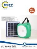 Lanterna solare di campeggio con il caricatore e gli indicatori luminosi del telefono mobile
