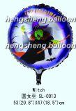 """воздушный шар фольги 18 """" Halloween (10-SL-158)"""