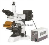 Microscope de laboratoire fluorescent Trinoculaire vertical
