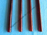 Tubo de vidro de quartzo vermelho, vermelho o tubo de quartzo, tubo de quartzo, Tubo de Quartzo Rubi, Preto e Vermelho do tubo de quartzo