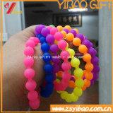 Nova Moda bracelete de silicone para promoção dons (YB-SM-02)