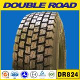 Doubles pneus radiaux en gros de camion de la position TBR d'entraînement des pneus 315/80r22.5 315/70r22.5 à l'avance de route