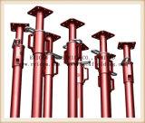 Pó revestido construção Andaime Escoramento de Aço Ajustable Prop