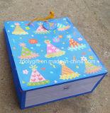 Personalizar o saco do presente do papel do feliz aniversario do Glitter do projeto