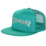 Cappello piano del camionista del Bill di Snapback di abitudine del ricamo della protezione registrabile della maglia