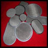 Disco del filtro del acero inoxidable de la buena calidad