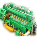 1500KW générateur de déchets de plastique de l'huile