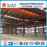 Almacén prefabricado de la vertiente del edificio industrial de la estructura de acero del bajo costo