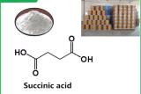 Нет: CAS 110-15-6, 99% мин Succinic кислоты, белый кристально чистый звук