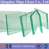 6мм плоской формы прозрачные очистить стекло плавающего режима с помощью нестандартного формата