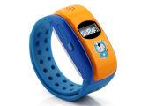 Slim Horloge met het Volgen van de Wijzerplaat/van de Speler/GPS van de Muziek SMS//Sos/GPRS voor Mobiele Telefoon