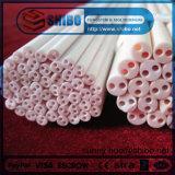 99,7 % de l'alumine (deux extrémités du tube d'isolement ouvert)