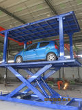 Fornecedor de ouro chinês 3000kg carro elevador de tesoura