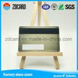 Cartão em branco do PVC da sociedade de Hico 2750OE da impressão de cor Cr80 cheia com listra magnética