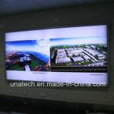 Aluminiummedia-Fahnen-Gewebe-Untergrundbahn-heller Kasten-Schild der rahmen-Wand-Montierungs-LED