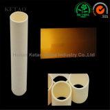 Isolamento a temperatura elevata 99.7% tubo di ceramica dell'allumina 99 Al2O3 nella Protezione-Ketao industriale della fornace o della termocoppia del forno