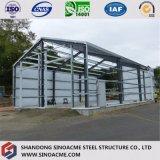 Magazzino chiaro prefabbricato della struttura d'acciaio con l'alta qualità