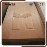 HDF moldeado de la piel de la puerta de chapa de madera con CE