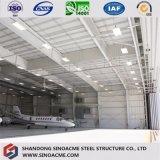 Vorfabriziertes Stahlkonstruktion-Aufhängungs-Gebäude für Flugzeuge