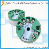 Transmissor 4 20mA da temperatura do sensor da cabeça/temperatura do par termoeléctrico da RTD PT100 D148