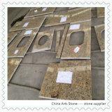 台所および浴室のための中国の花こう岩の大理石の石の平板のカウンタートップ