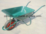 Wheelbarrow resistente de aço da construção do trole da mão