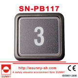 Квадратные кнопки элеватора (SN-PB117)