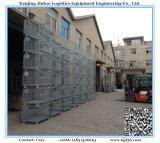 De stapelbare Kooi van de Opslag van het Netwerk van de Draad van het Staal voor Industrieel Pakhuis